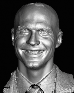 3D scan thanks to Thabo Beeler and Derek Bradley of Disney Research