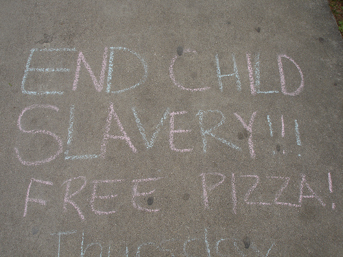 End Child Slavery Free Pizza.jpg